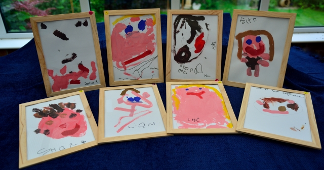 Framed Childrens Pictures Available for Sale within the setting. See one of the staff team for details